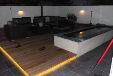 Stunning tuin led verlichting fotos woonkamer inspiratie ideeën