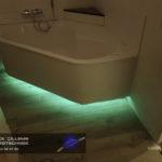 Ledverlichting is ook sfeervol in de badkamer, Patrick Willems Elektrotechniek is uw ledspecialist
